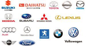 主な取扱いメーカーロゴ:SUZUKI スズキ代理店 DAIHATSU ダイハツベストPIT店 TOTOTA NISSAN MAZUDA HONDA SUBARU MITSUBISHI MOTORS LEXUS Audi Mercedes-Benz PEUGEOT BMW Volkswagen MINI Ford